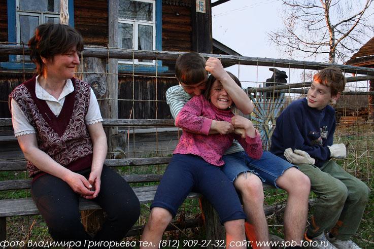 Russian village 25