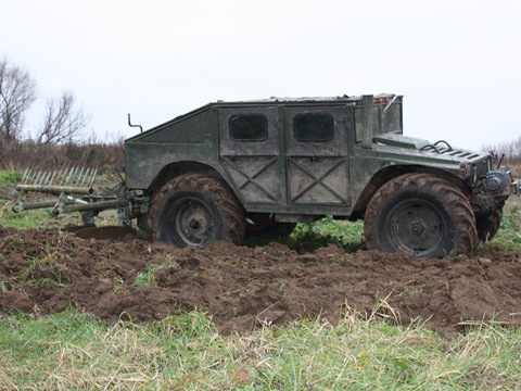 Russian self-made Hummer 17