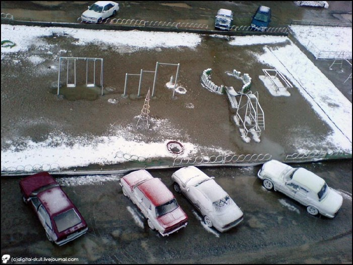 Snow in Summer in Russia 1