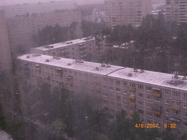 Snow in Summer in Russia 12