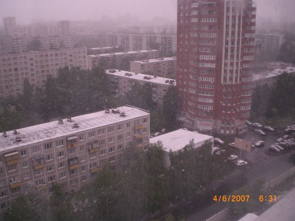 Snow in Summer in Russia 13