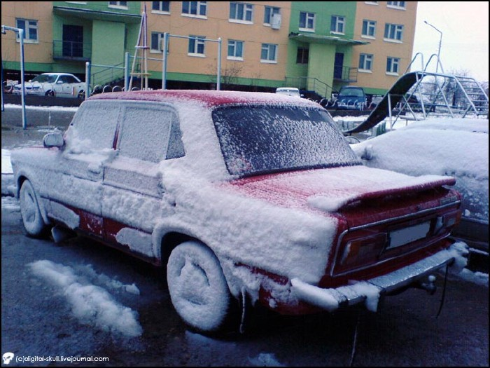 Snow in Summer in Russia 2