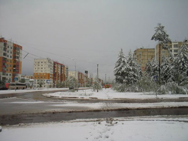 Snow in Summer in Russia 6
