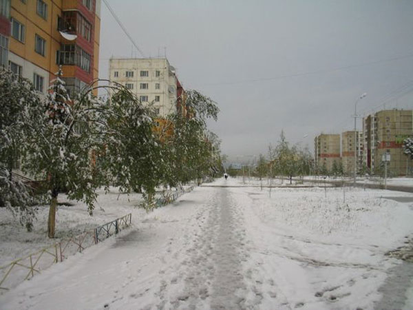 Snow in Summer in Russia 8