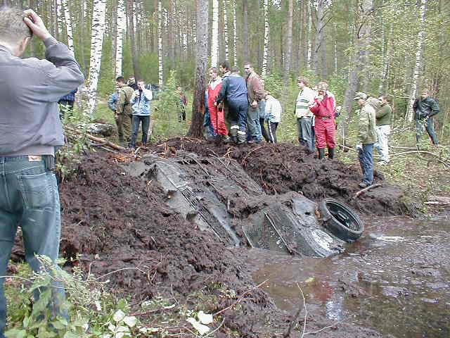 Russian tank t-34 from Estonian swamp 9
