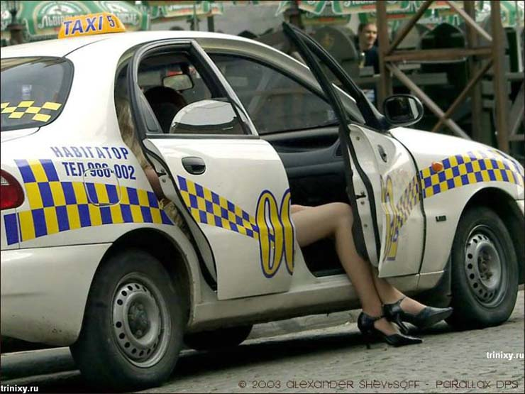 Russian Taxi cars 1