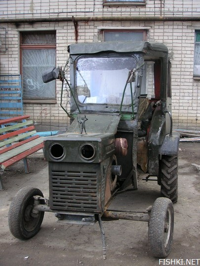 russian tractor 2