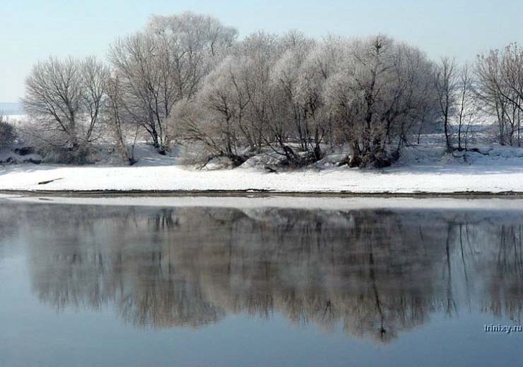 Russian nature in winter 11