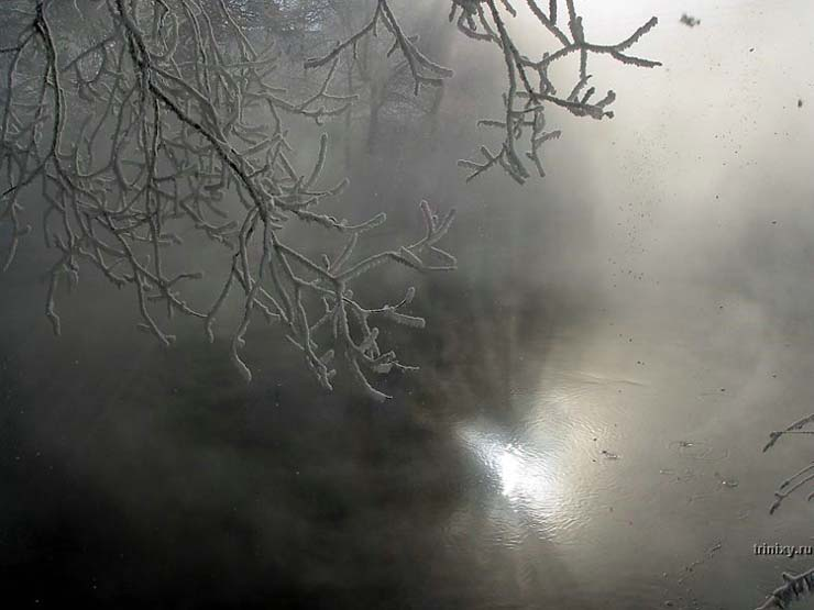 Russian nature in winter 27