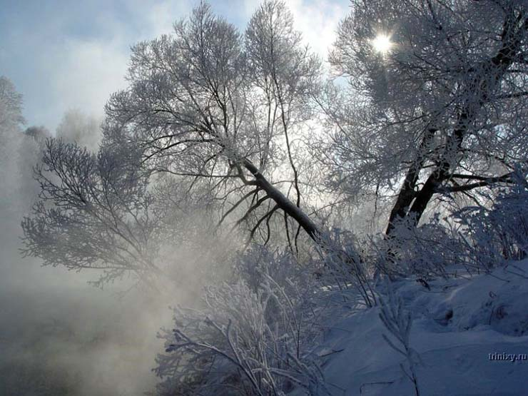 Russian nature in winter 28