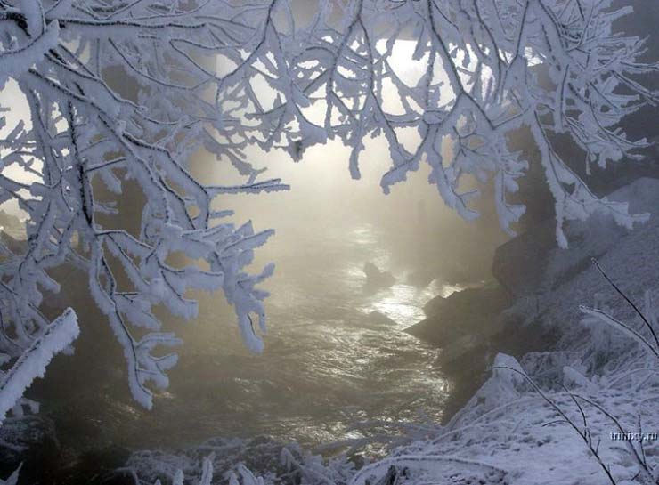 Russian nature in winter 3