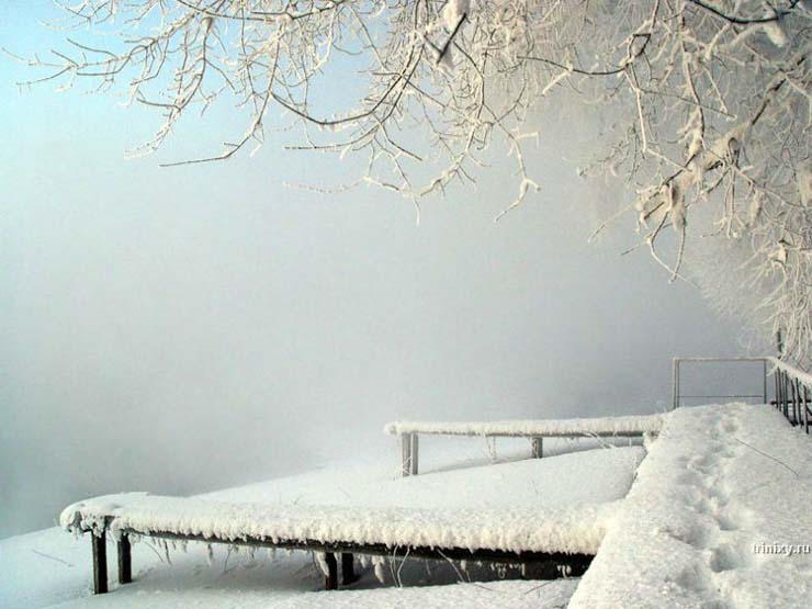 Russian nature in winter 7