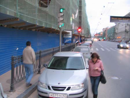 street of St. Petersburg 1