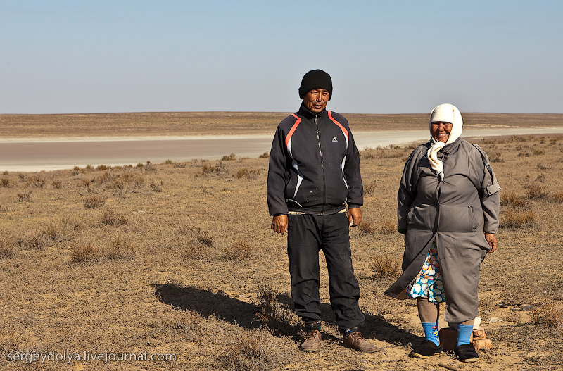 Russian salt lakes