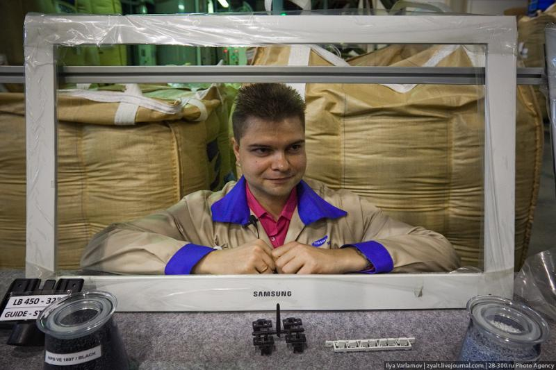 SAMSUNG factory in Kaluga TV sets manufacture 10