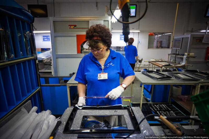 SAMSUNG factory in Kaluga TV sets manufacture 35
