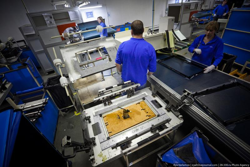 SAMSUNG factory in Kaluga TV sets manufacture 36
