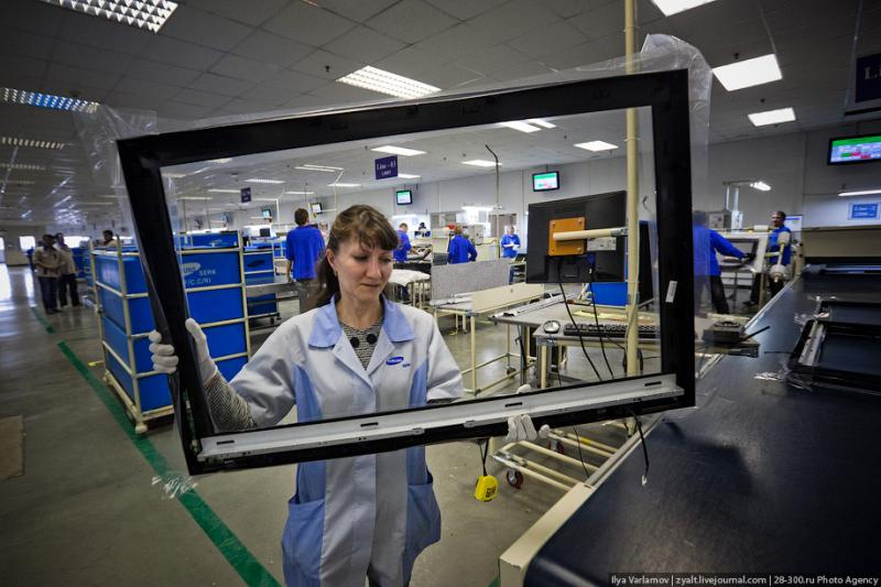 SAMSUNG factory in Kaluga TV sets manufacture 38
