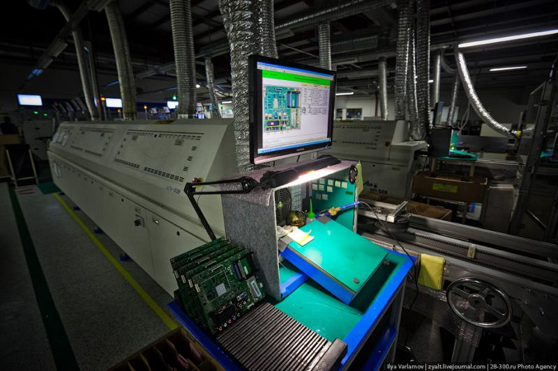 SAMSUNG factory in Kaluga TV sets manufacture 43