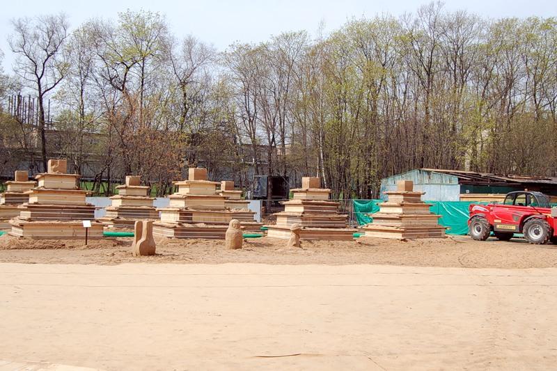 Sand Sculptures Festival 1
