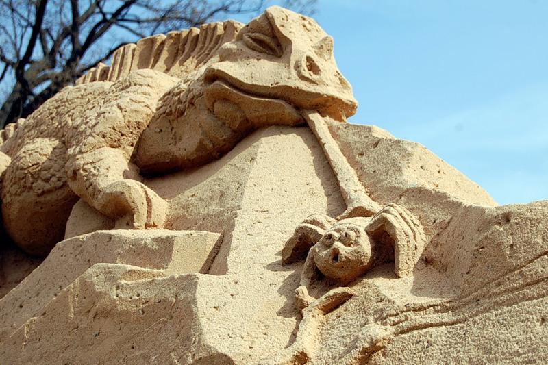 Sand Sculptures Festival 14