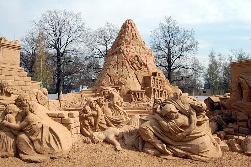 Sand Sculptures Festival 2