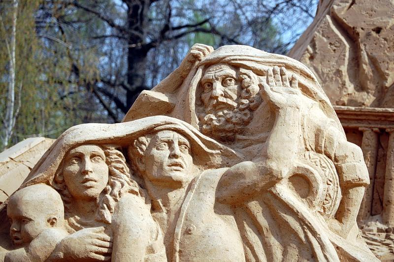 Sand Sculptures Festival 4