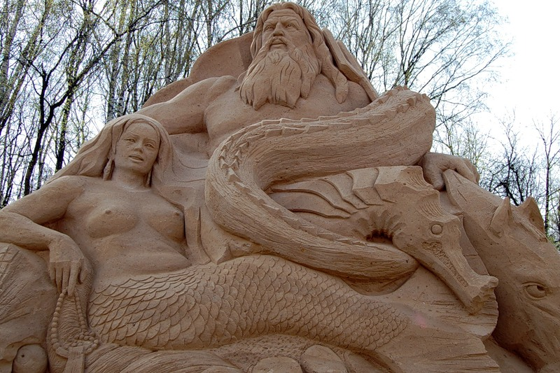 Sand Sculptures Festival 5