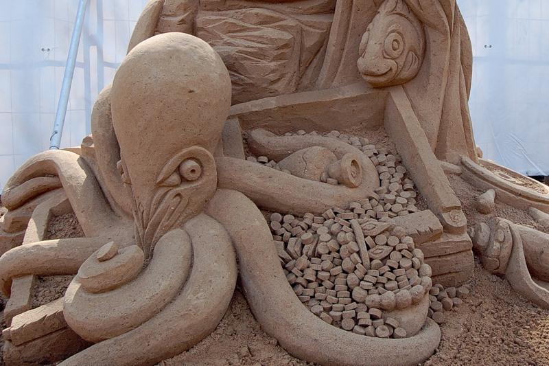 Sand Sculptures Festival 6