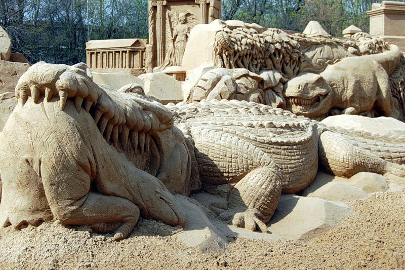 Sand Sculptures Festival 9