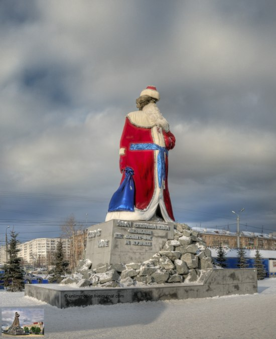 Russian Ded Moroz monument 15