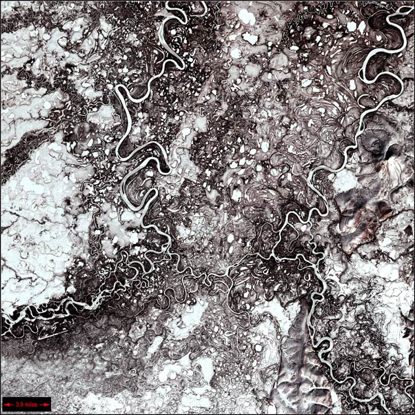Russia from satelite 4