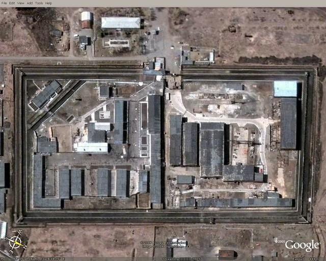 Russian prison in Omsk city