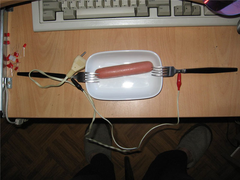 Russian way to cook sausages 1