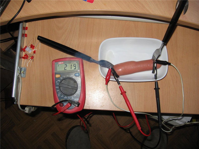 Russian way to cook sausages 2