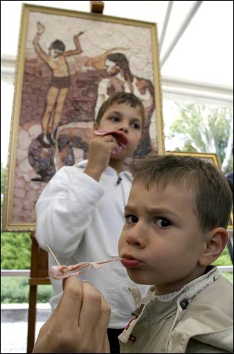 Russian sausage art 2