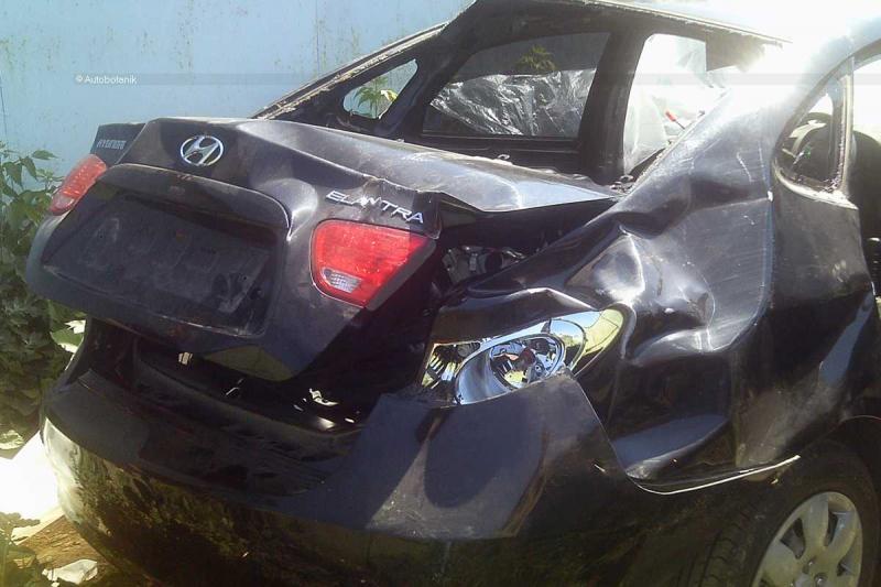 Saw 5: Korean Elantra Crash 1