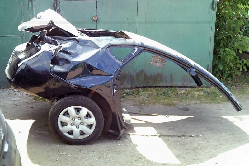 Saw 5: Korean Elantra Crash 47