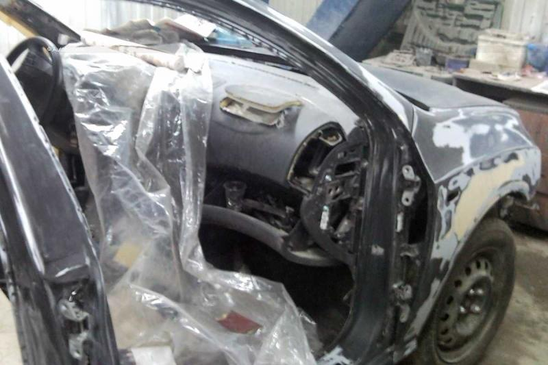 Saw 5: Korean Elantra Crash 77