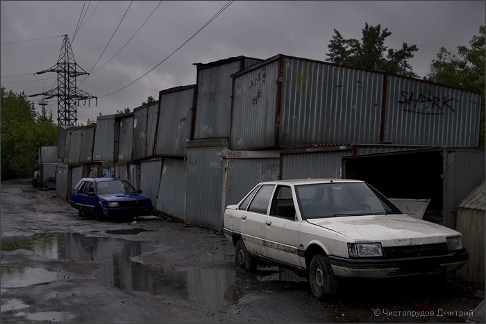 Russian abandoned cars 1