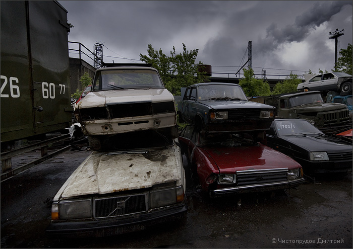 Russian abandoned cars 2