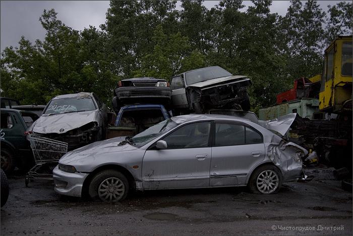Russian abandoned cars 4