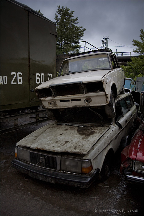 Russian abandoned cars 5