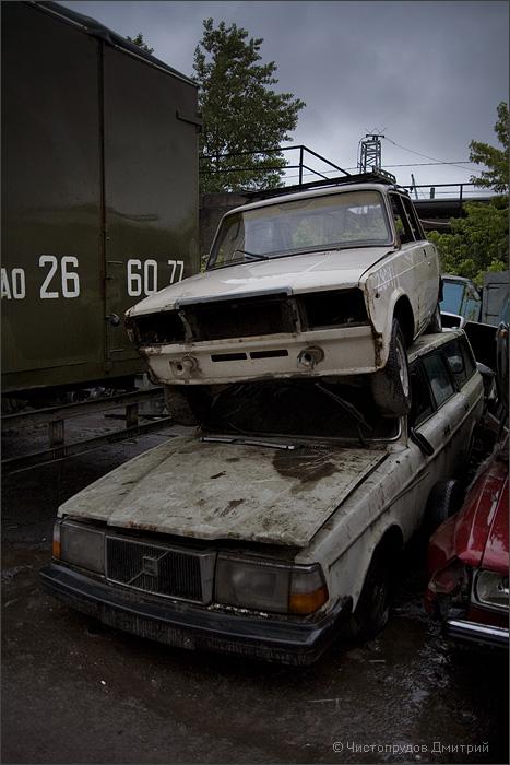 Russian abandoned cars 5