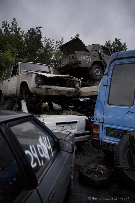 Russian abandoned cars 7