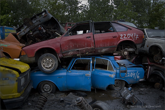 Russian abandoned cars 8