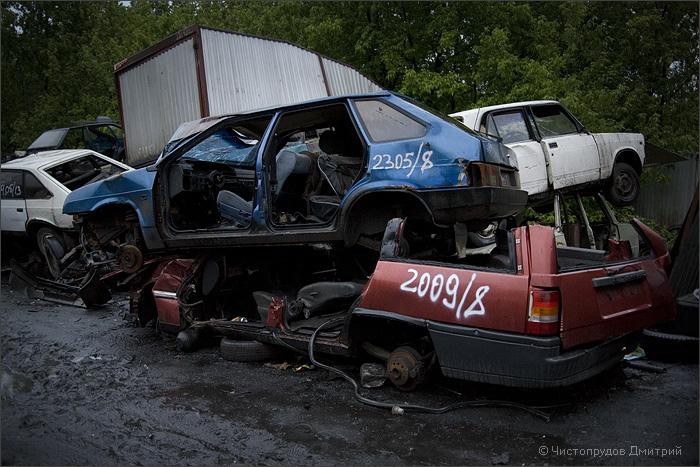 Russian abandoned cars 9