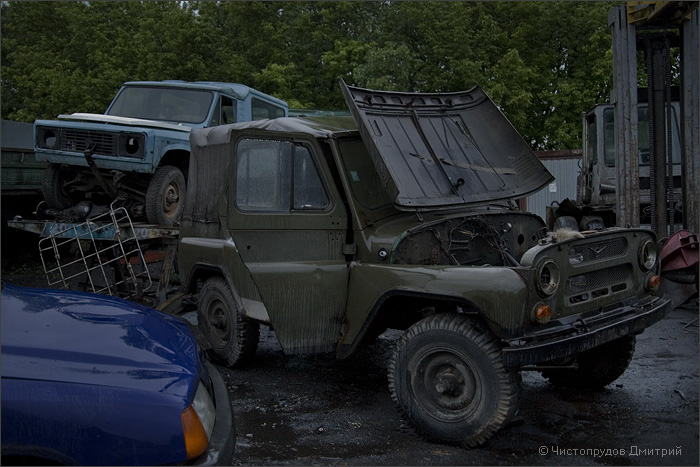 Russian abandoned cars 24