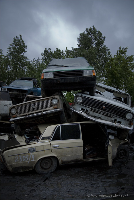 Russian abandoned cars 27