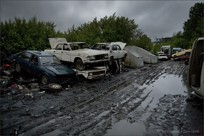 Russian abandoned cars 29